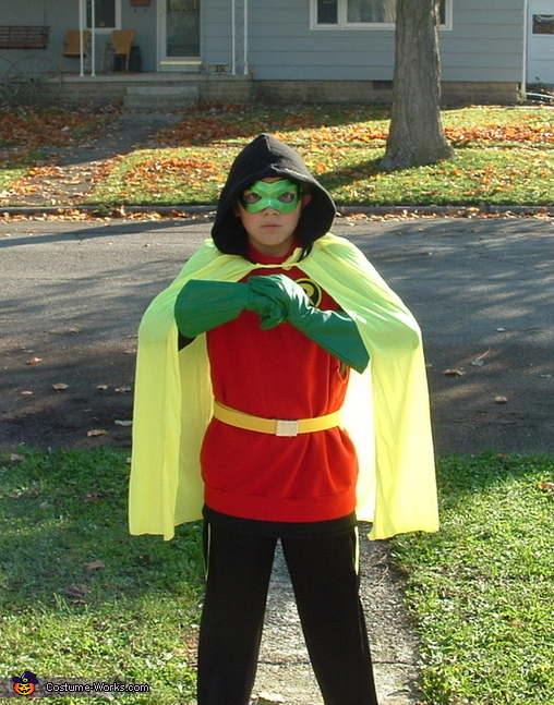 Damian Wayne Robin Costume