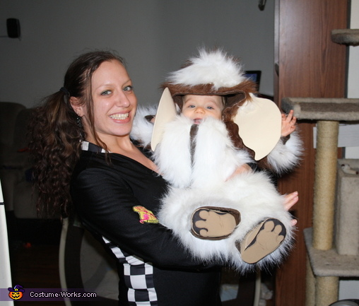 Damien my little Gremlin. GIZMO - Homemade costumes for babies