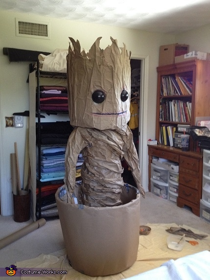Guardians of the Galaxy Dancing Baby Groot Costume