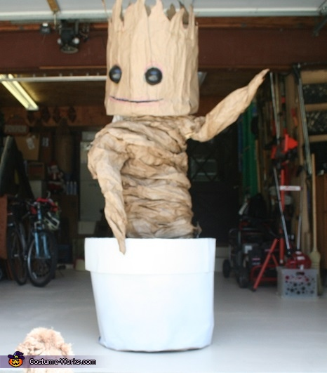 Dancing Baby Groot Homemade Costume