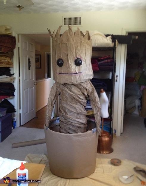 Dancing Baby Groot Homemade Costume