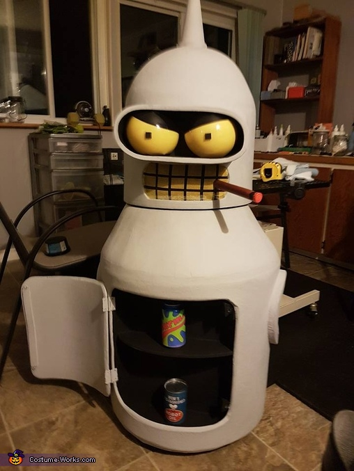 Dancing Bender Mascot Suit Costume