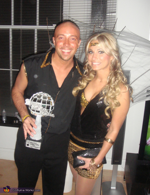 Dancing with the Stars Winners! Couple Costume
