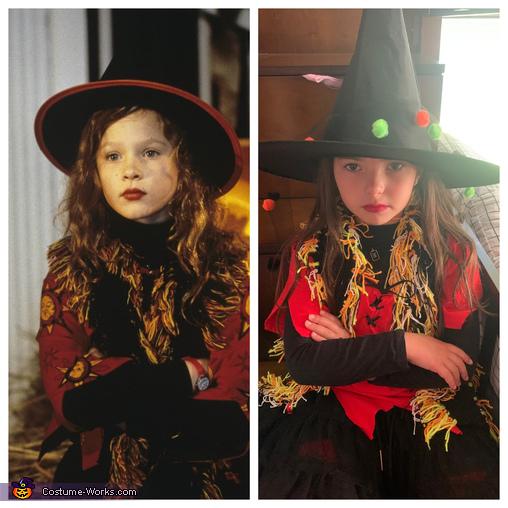 Her inspiration photo, Dani Dennison Costume