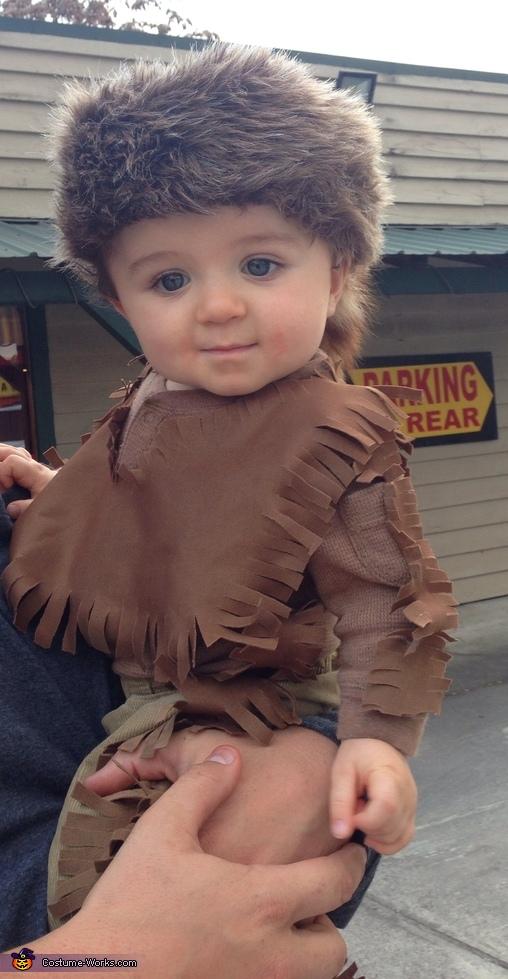 Daniel Boone Baby Costume