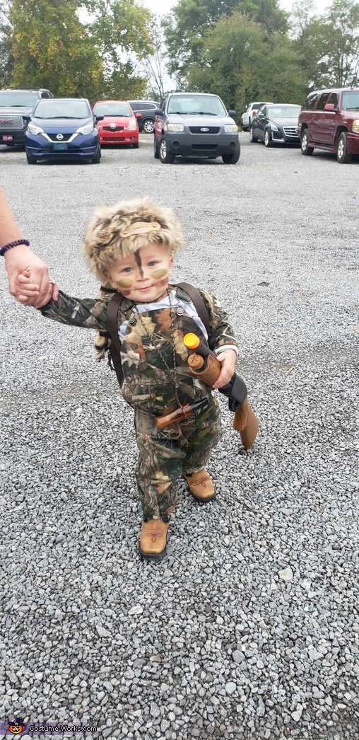 Daniel Boone / Davy Crockett Homemade Costume