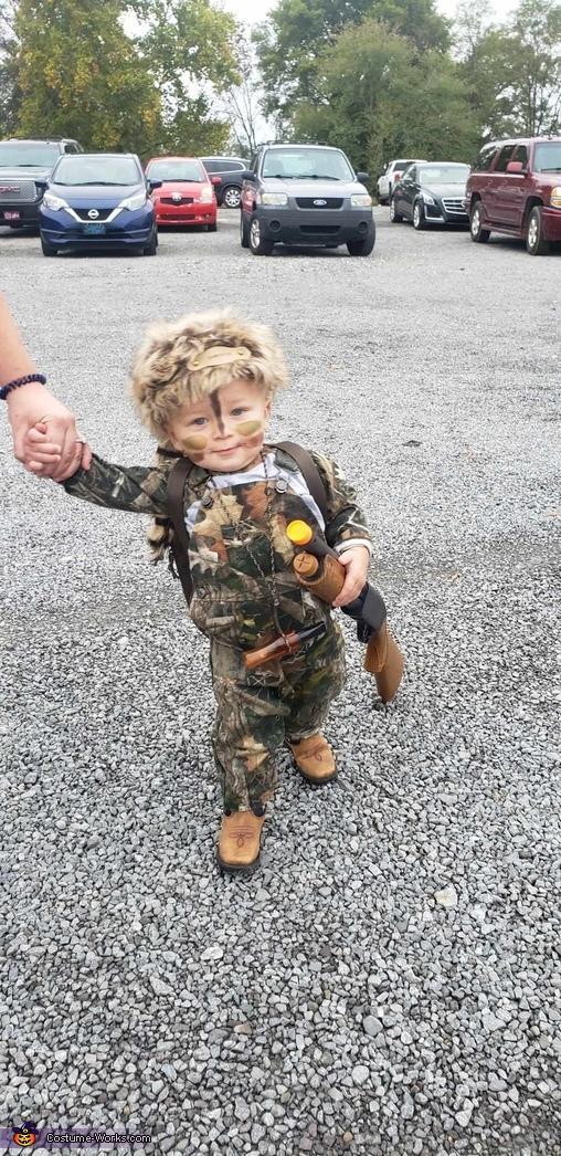 Daniel Boone / Davy Crockett Homemade Costume
