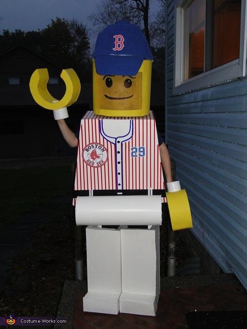 Daniel Nava Lego Minifigure Costume