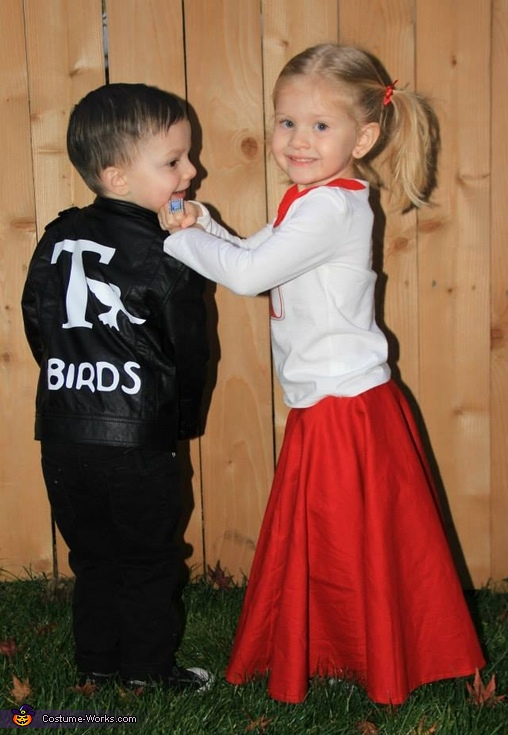 Danny Zuko & Sandy Olsson Costume