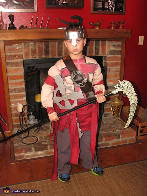 Dante from Dante's Inferno - Homemade costumes for boys