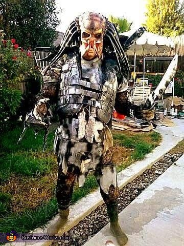 Dark Ages Predator Homemade Costume