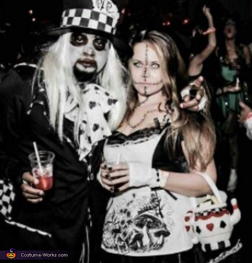 Dark Alice & Mad Hatter Costume
