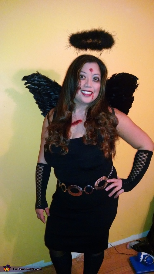 Dark Angel Zombie Costume