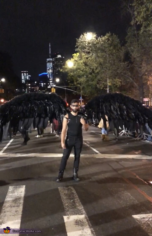 Dark Archangel Homemade Costume