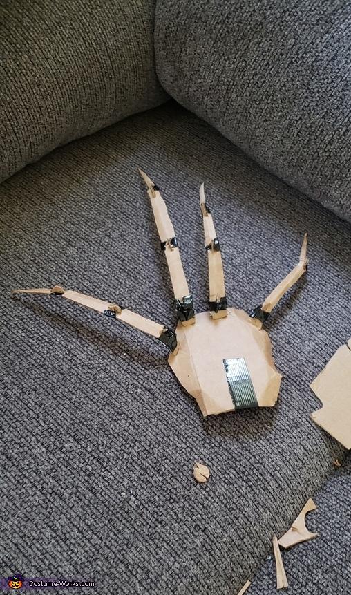 Hand, Dark Coraline Costume