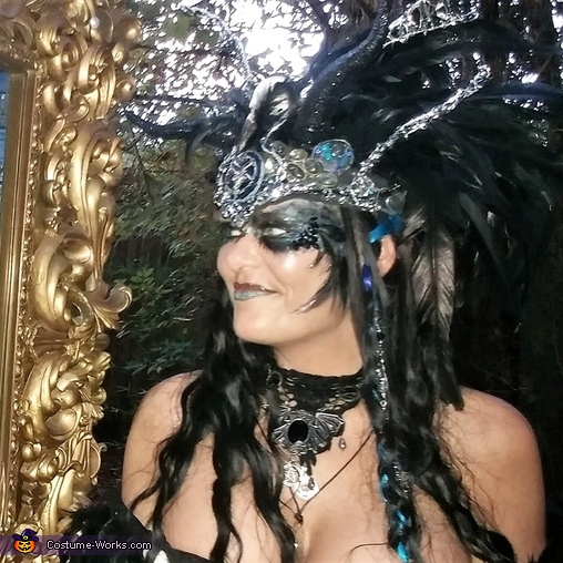 Dark Enchantress Homemade Costume
