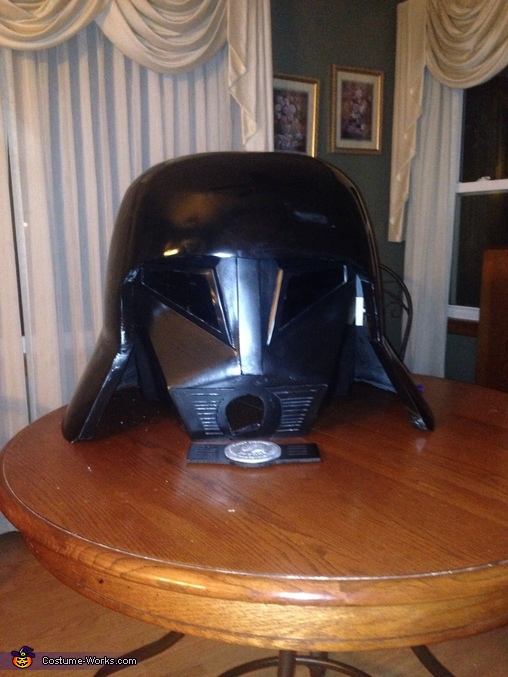 Last step before breather, Spaceballs Dark Helmet Costume