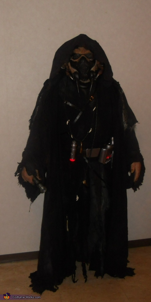Dark Jedi Homemade Costume