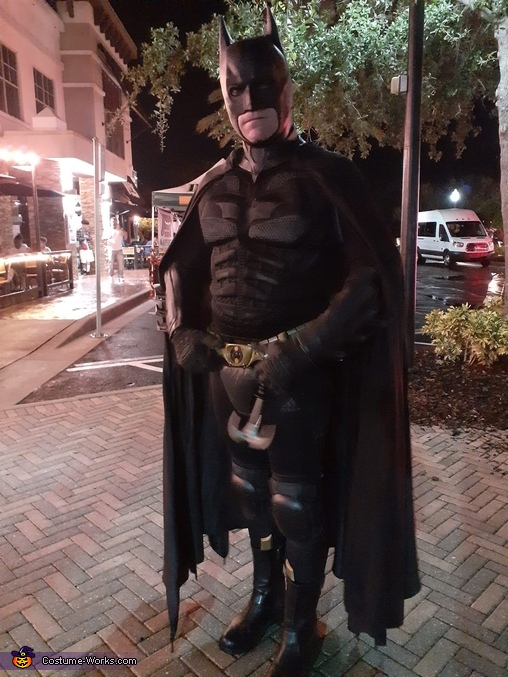 Dark Knight Homemade Costume