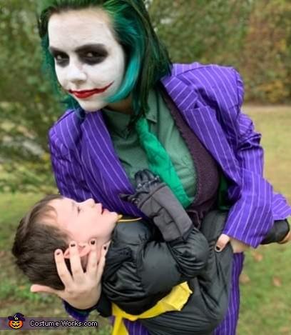 Joker got the Bat., Dark Knight Joker Costume