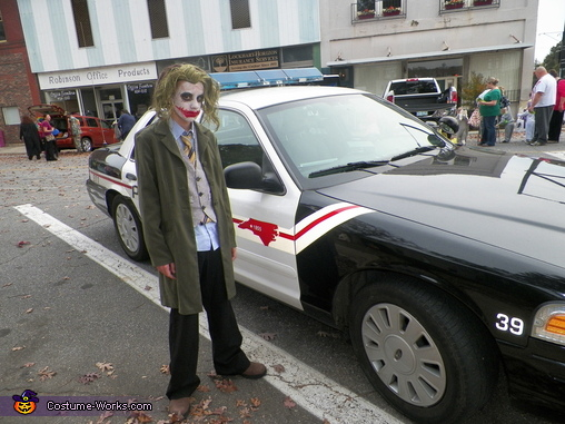 You want to know how I got thses scars son?, Dark Knight The Joker Costume