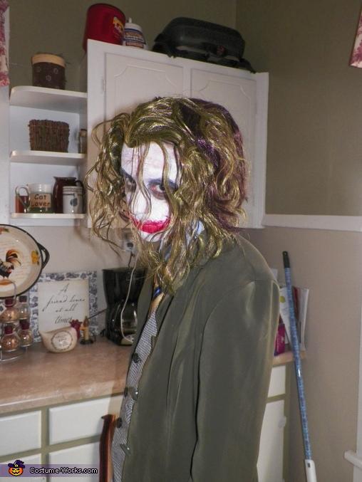 Why so serious???, Dark Knight The Joker Costume