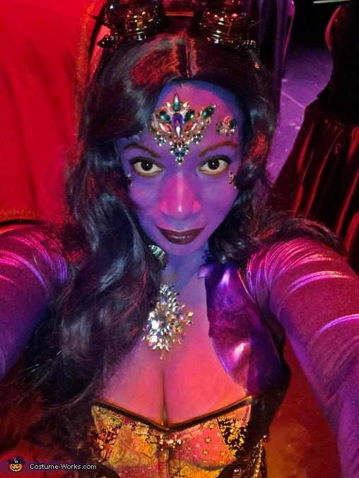 Dark Mermaid Homemade Costume