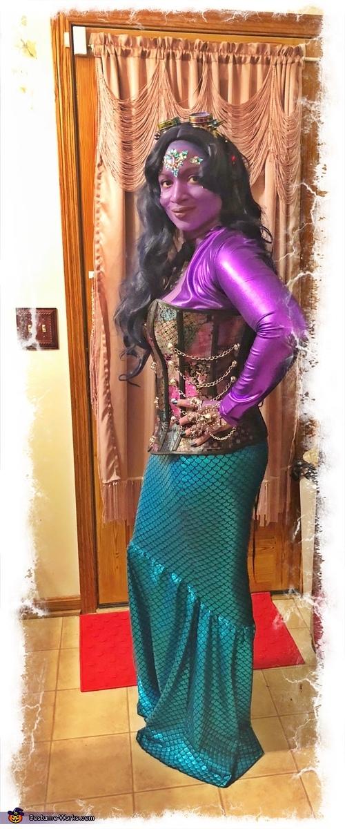 Full Body 2, Dark Mermaid Costume