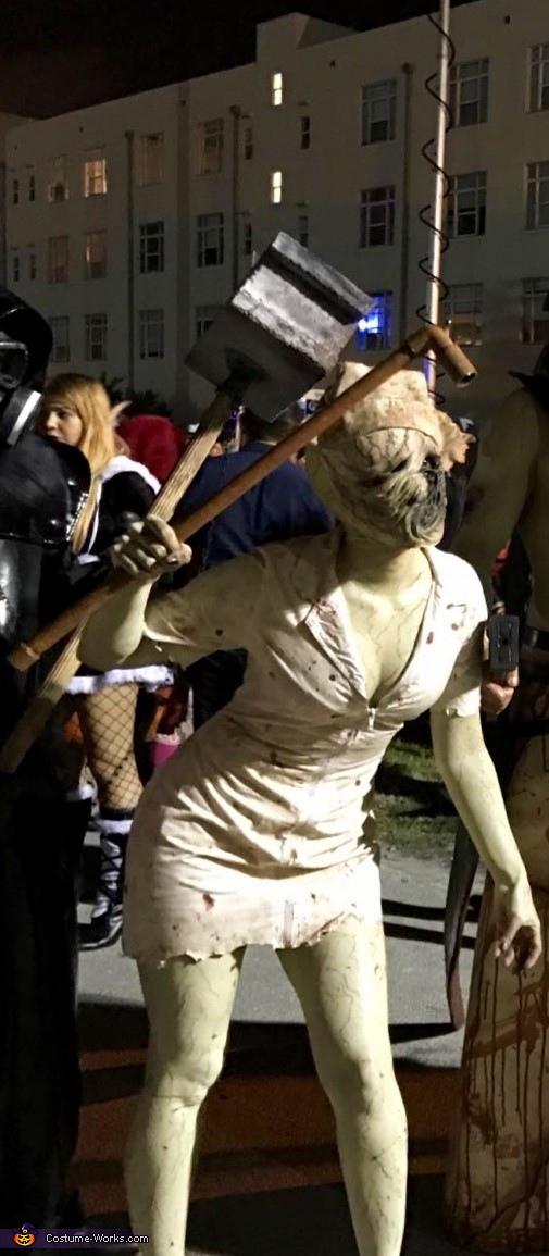 Dark Nurse Homemade Costume