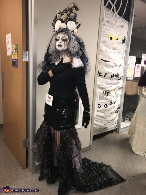 Dark Sea Queen Homemade Costume