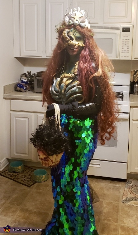 Dark Sea Siren Costume
