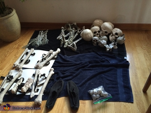 Other parts, Dark Souls Gravelord Nito Costume