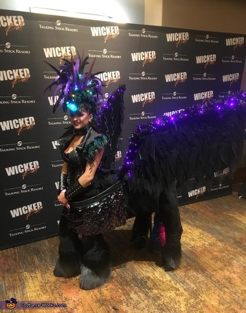 Dark Unicorn Homemade Costume
