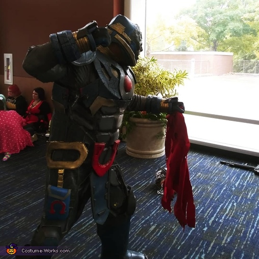 Darkseid Homemade Costume