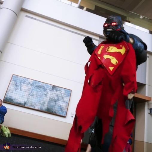 Darkseid Homemade Costume
