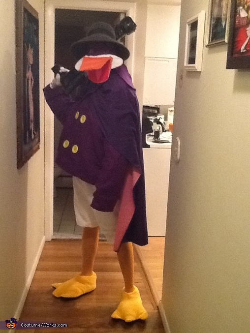 Darkwing Duck Homemade Costume