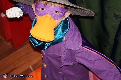 Darkwing Duck Homemade Costume
