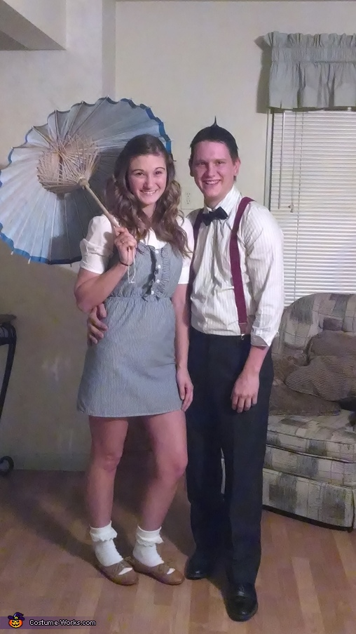 Darla and Alfalfa Couple Costume