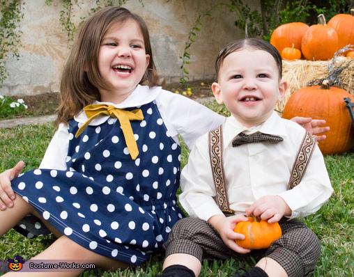 Darla and Alfalfa Costumes