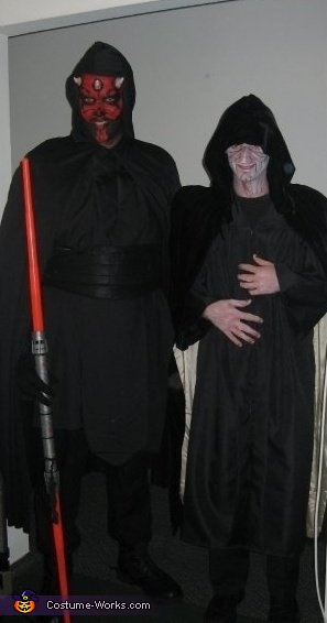 Something, something, something DARK SIDE!!!, Darth Maul Costume