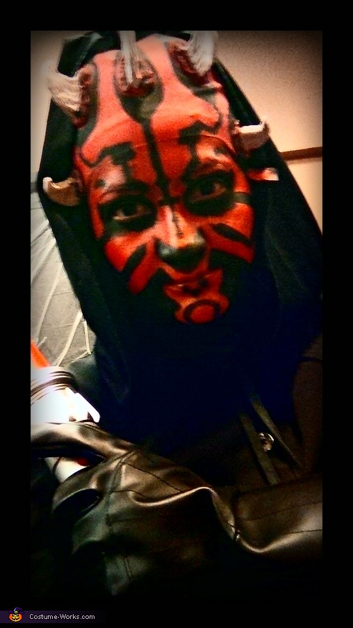 Face make-up, Darth Maul Costume