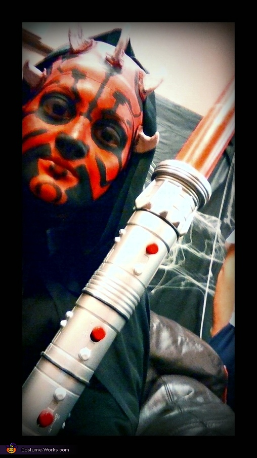 Showing more horns, Darth Maul Costume