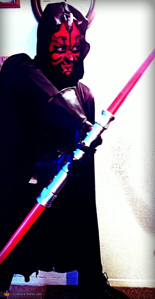 Full body, Darth Maul Costume