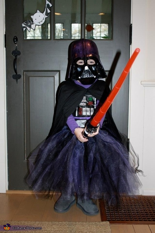Girl darth vader outfit