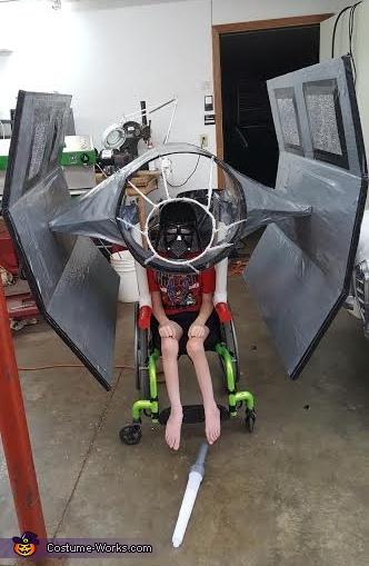Darth Vader and his Ship Costume