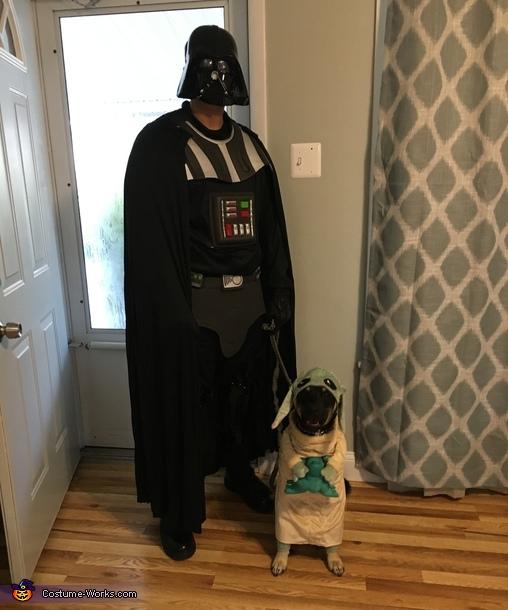 Darth Vader and Yoda Costume