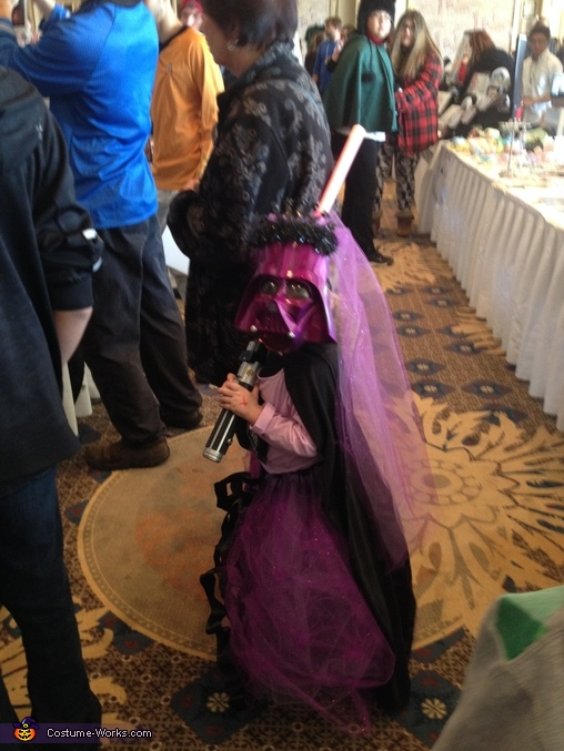 Darth Vader Princess Homemade Costume