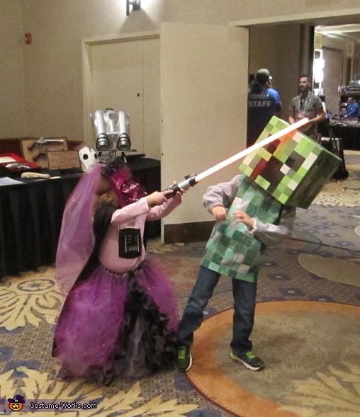 Darth Vader Princess Homemade Costume