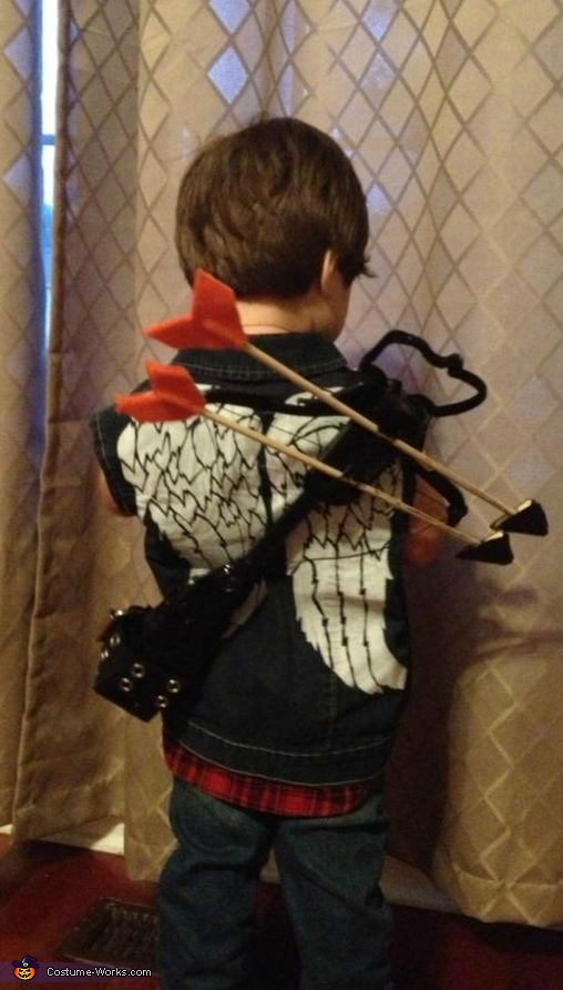 Daryl Dixon from The Walking Dead Homemade Costume