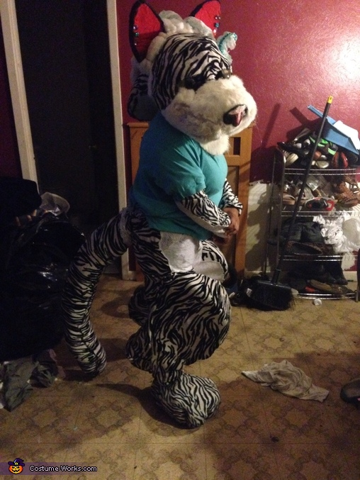 Looking inoscent, D'Asia the White Tiger Costume